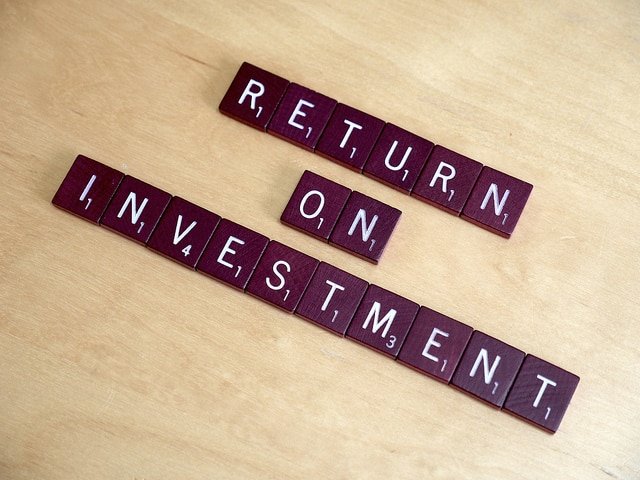 Return on Investment in Scrabble letters