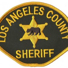 LA County Sheriff Department uniform patch
