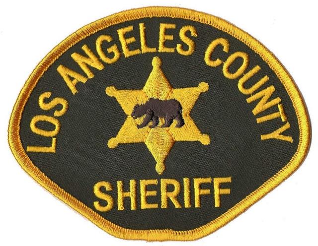 LA County Sheriff Department uniform patch