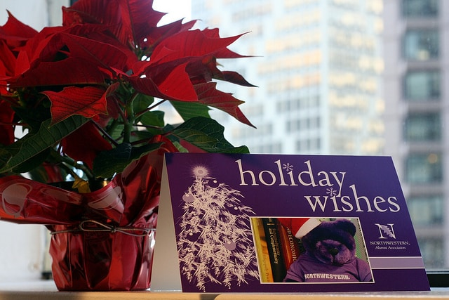 holiday cards becoming obsolete in law firms?