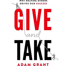 "Cover of book ""Give and Take"" by Adam Grant"