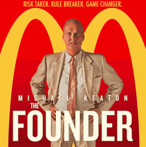 Photo of the title of the movie The Founder